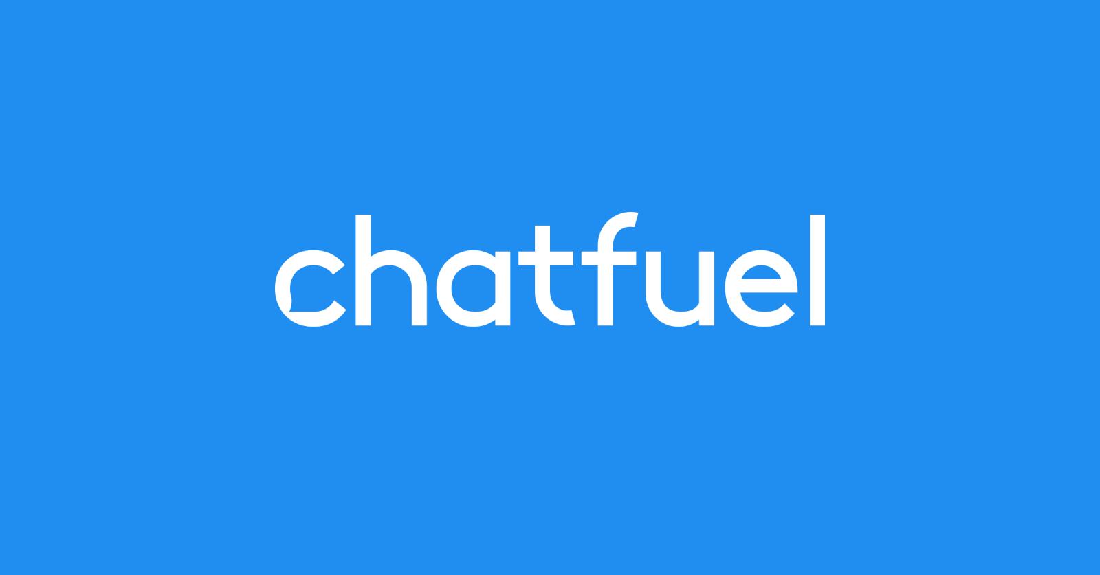 chatfuel - facebook messenger chatbot