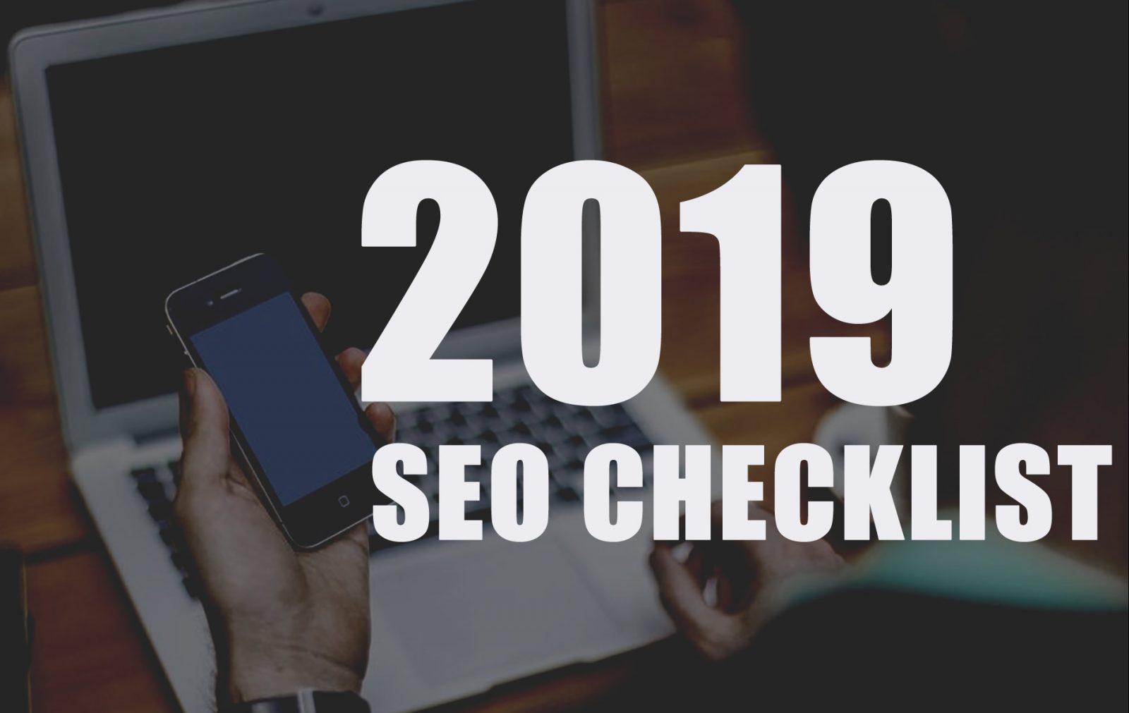2019 SEO CHECKLIST - MojoMedia Pro